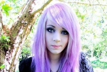 Purple hair / Because that's what hair should be...