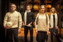 Clan Aran Sweaters / Traditional Handmade Clan Aran Sweaters born from ancient Clan patterns that have been safeguarded and passed down from generation to generation.