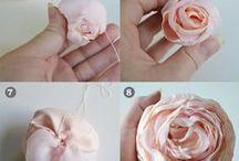 Flower | Bows Tutorials / by Melanie Looh