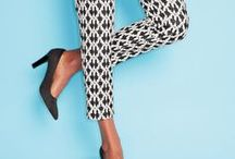 black & white / Edgy. Sophisticated. Sexy. Go beyond the trend with an extra special pop of bright color and stand out from the crowd.