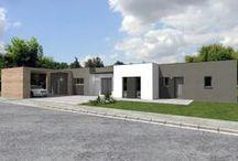 Constructeur de maison d'architecte / Originale et fonctionnelle sont les deux caractéristiques principales de cette maison de style architecte dessinée par le constructeur de maison Alliance Construction.