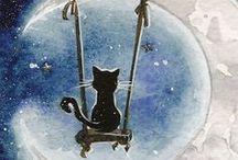 Moon Cats / by Rosario Garza