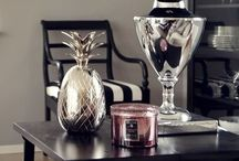 Interior design inspo / Art deco, hollywood regancy, black and white, coppar, metallic, symetric, interior design