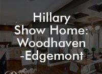 Hillary Show Home: Woodhaven-Edgemont / Hillary show home #yeg yourpacesetter.com/project/hillary/