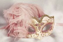 Venetian Masks / Nerdy, beautiful art...