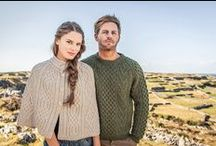 Aran Isles Collection / The Aran Isles Collection captures some of our favourite Aran Sweaters & Irish Knitwear amidst the beautiful landscape of our home in the Aran Islands.