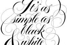 Musta&valkoinen