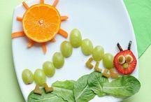 Comida para niños / Comida que estimule el interés de los niños por la misma.