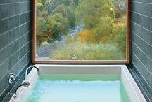 Baños encantadores / Decoración de baños!