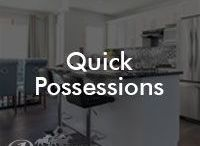 Quick Possessions / Our current model availability of Quick Possession Homes