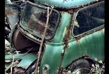 Derelict Rust Minis / Abandoned classic minis
