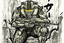 HAL⊙ << Master Chief