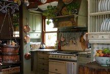 Kitchen Ideas / Kitchen Ideas / by Robin Bell