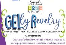 Gel Press® Classes/Workshops / Opportunities to take classes using Gel Press® with our amazing Artist Educators.