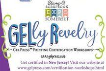 Gel Press™ Classes/Workshops / Opportunities to take classes using Gel Press™