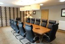 Boardroom Projects / Bevlan have an excellent range of Boardroom and Conference Room furniture. Our selection of tables can provide you with a professional, sophisticated and corporate company image incorporating current design elements with modern finishes and materials. http://www.bevlan.com/portfolio-item/boardroom-projects/