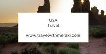 USA Travel. / Travel Tips and Inspiration to help you create your perfect adventure to The United States of America. Follow for destinations, activities, places to eat, and travel hacks for your trip to America.