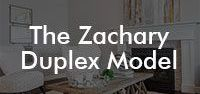 The Zachary Duplex Model / Our Zachary floor model; 1591 square feet, duplex, 3 bedroom