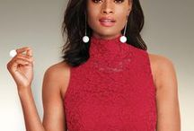 december: reds / Our December Color of the Month is RED! It's bold, hot and festive, just right for looking amazing this time of year. And no matter how you like it — in leather, velour, lace and more — we've got you covered. Shop the metrostyle Color of the Month collection for sexy reds that make any outfit merry and bright.