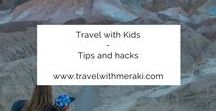 Travel with Kids  ~ Tips and hacks / Travel Tips and Hacks to help you create your dream holiday with children. Follow for destinations, activities, flying with children, and lots more for your trip with kids.