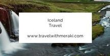 Iceland Travel. / Travel Tips and Inspiration to help you create your perfect adventure to Iceland. Follow for destinations, activities, places to eat, and travel hacks for your trip to Iceland.