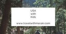 USA with kids / Travel Tips and Inspiration to help you create your perfect  family travel adventure to The United States of America. Follow for destinations, activities, places to eat, and travel hacks for your trip to America with kids.
