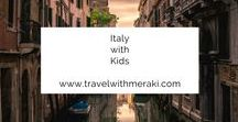 Italy with Kids / Travel Tips and Inspiration to help you create your perfect family travel adventure to Italy. Follow for destinations, activities, places to eat, and travel hacks for your trip to Italy with kids.