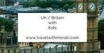 UK / Britain with Kids / Travel Tips and Inspiration to help you create your perfect family travel adventure to UK and Britain. Follow for destinations, activities, places to eat, and travel hacks for your trip to UK/ Britain with children.