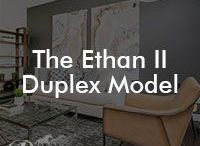 The Ethan II Model / Our Ethan II floor model; 1460 square feet, duplex, 3 bedrooms