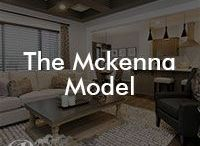 The McKenna Model / Our McKenna floor model; 2027 square feet, front attached garage, 3 bedrooms