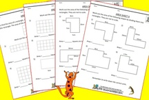 Area & Perimeter Worksheets / Here is our selection of free Area and Perimeter worksheets for kids. / by Math Salamanders