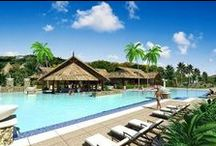 Sandals La Source Grenada / How exciting, a new Sandals Destination for us to explore!!  Check out these sneak peak photos & renderings of the amazing things to come....