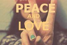 Peace & love / Hippy love