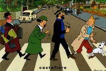 Fake Tintin Covers / Fake Tintin Covers
