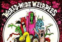 World Wide Weirdies by Ken Reid (1919–1987) / Big fan of Ken Reid's work. These were originally published in the British comic Whoopee back in the day.