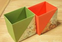 origami containers & boxes / by Alice Liddel