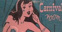 Burlesque Revue / Striptease, Burlesque, Showgirls, Nightclubs, Folies Bergère related.