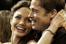 .Angelina & Brad.