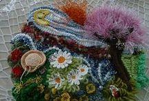 Freeforme et Scrumbles Créations ©Pipiou / Mes créations personnelles en freeforme au crochet