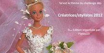 Barbie 2012 :Robes de mariées / Dans cet album j'ai regroupé les créations de chacune des participantes inscrites au défi des stylistes que je lance chaque année.Cette année le thème était : Robes de mariées