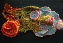 Freeforme crochet-fol / motifs, scrumbles et créations en freeforme crochet