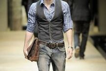 Mens Fashion / Men's fashion, outfits and hairstyles