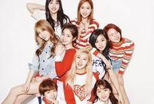 TWICE / 트와이스 - JYP Entertainment. Members: Nayeon, Jungyeon, Momo, Sana, Jihyo, Mina, Dahyun, Chaeyoung, and Tzuyu