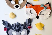 Fun with felt / You can make awesome DIY projects and crafts with felt!  Finger puppets, quiet books, felt boards, stuffies...