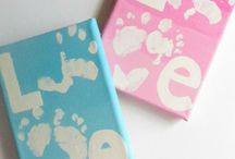 Keepsakes / Love to make and collect keepsakes from my kids!  Handprint Art & kids projects also make great gifts for grandparents, Father's Day, & Mother's Day.