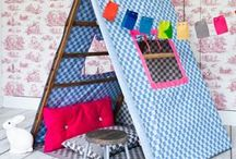 Playroom Fun / Adorable ideas for playrooms!  Cute playroom decorations, DIY kids toys, play ideas, and more.
