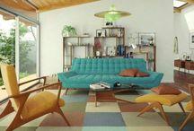 Vintage-Inspired Rooms