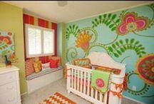 Girl Nurseries / Inspiration & ideas.
