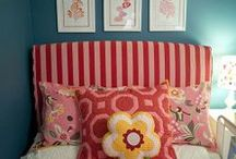 Big Girl Rooms / No longer a baby? Here are room ideas for the new big girl.