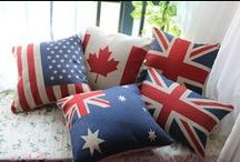 Home Decor for Travelers / Home furnishings and accents that any world traveler would love to add to their home.